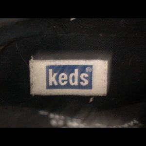 Keds Shoes - Vintage Black Suede Keds Ankle Chukka Boots Sz 7.5